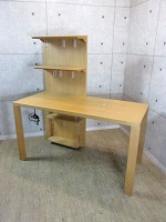 世田谷区にて カリモク 棚付き学習机 を買取ました