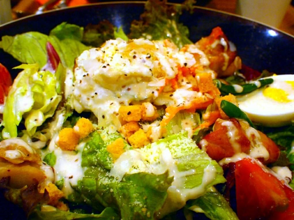 【フォトジェニック探し】サラダライスで野菜たっぷりランチ!