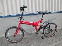 ランボルギーニ トニーノ 20インチ 折り畳み自転車 TL-FDB20
