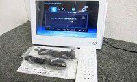 東芝 レグザ ポータブルBDプレーヤー ブルーレイ SD-BP1000WP