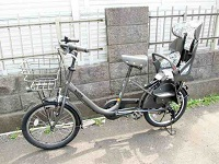 大田区にて ブリヂストン 子供乗せ自転車 BK02 を買取ました