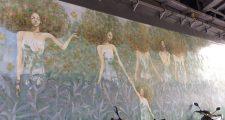 自由が丘 壁画
