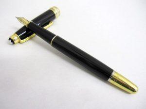 モンブラン マイスターシュテック ゴールドコーティング 万年筆 インク無し