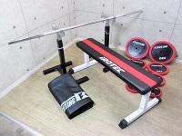 アイロテック バーベル シャフト ダンベル トレーニングベンチ