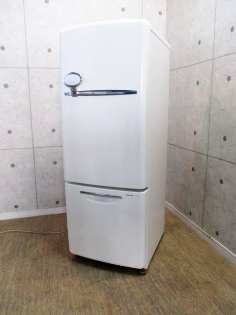 ナショナル 162L 2ドア WiLL FRIDGE mini 右開き 冷凍冷蔵庫 NR-B16RA-W
