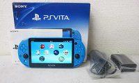 PlayStation PSVita アクア・ブルー PCH-2000ZA23