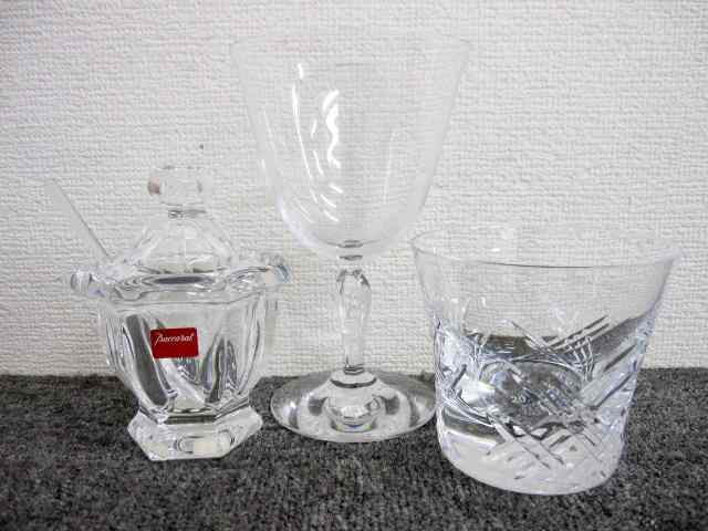 BACCARAT バカラ グラスセット シュガーポット ワイングラス タンブラー