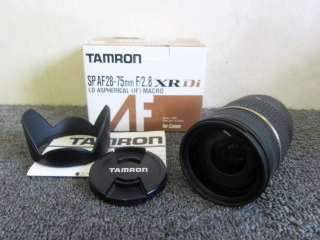 未使用 TAMRON XR Di SP カメラレンズ AF28-75mm F/2.8 MACRO A09E
