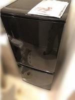 冷蔵庫 シャープ SJ-D14B-B