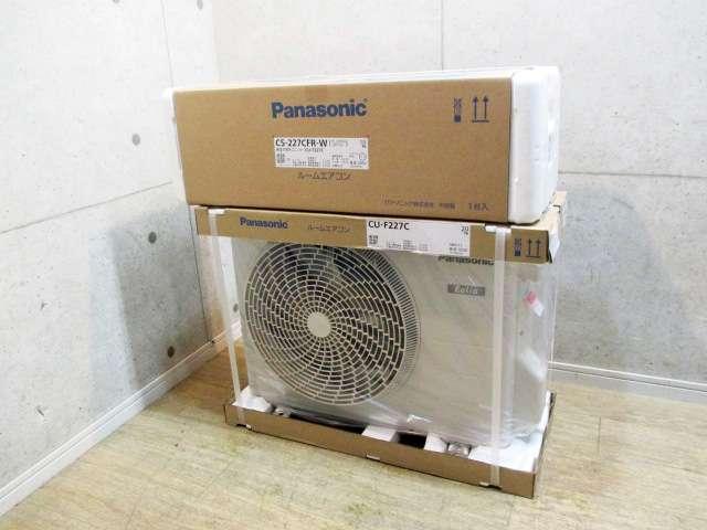 八王子市にてパナソニック製 エアコン 6~9畳 CS-227CFR 未開封品を店頭買取しました