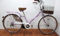 パナソニック ティモ・F 電動アシスト自転車 BE-ELTF63-P