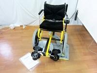 TESS プロファンド リハビリ自走式 足こぎ車椅子 コギー 台座付き 36-38