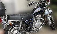 バイク スズキ GN125H