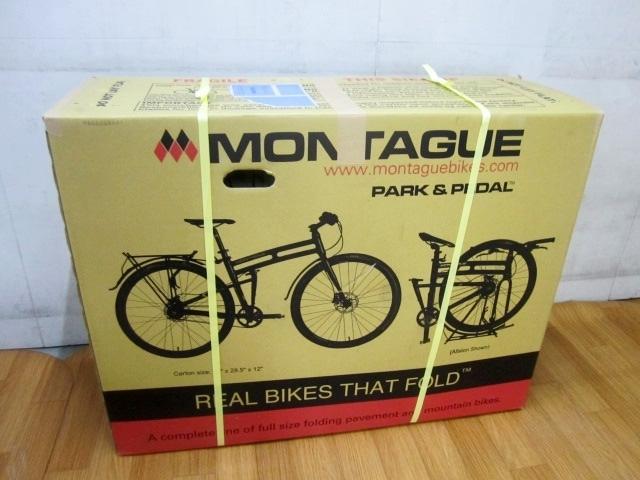 八王子市にて未開封 モンタギュー パラトルーパー ハイライン マウンテンバイク 18インチ を買取ました