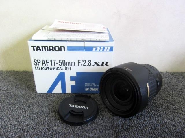 未使用 TAMRON XR DiⅡ SP カメラレンズ AF17-50mm F/2.8 A16E