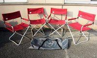 スノーピーク 折りたたみ椅子 チェア 4点セット