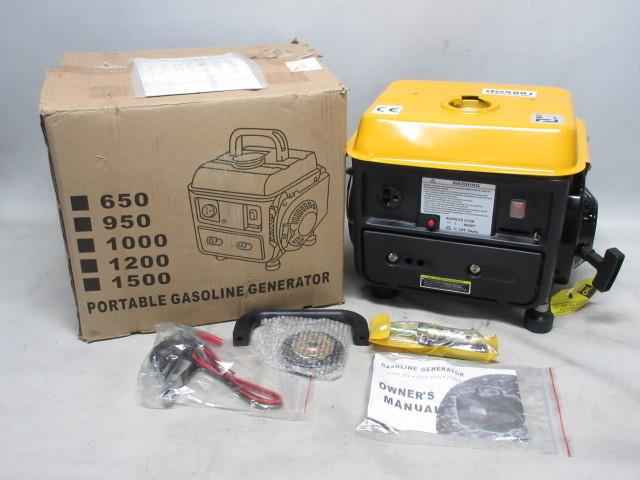 藤沢市にて発電機 950DC iso9001未使用品を買取ました