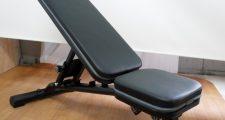 リーディングエッジ マルチポジションフラットベンチ ベンチプレス台 トレーニングベンチ 折り畳み式