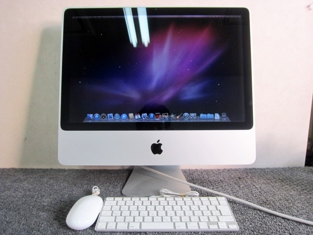 新宿区にて Apple製 iMac A1224 Early 2008年製 を出張買取しました