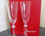 バカラ シャンパングラス ペア 箱有り クリスタルガラス