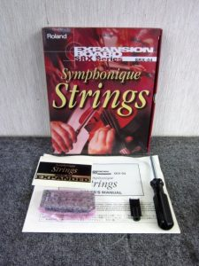 ローランド EXPANSION BOARD Symphonique Strings SRX-04