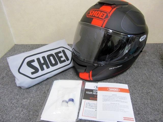SHOEI ヘルメット GT-AIR マットブラック Mサイズ 57cm 2014年製