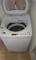 渋谷区にて シャープ 全自動洗濯機 ES-TX8A を買取ました