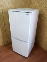 冷凍冷蔵庫 シャープ SJ-D14D-W