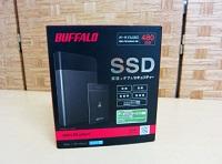 ポータブルSSD BUFFALO SSD-PZN480U3