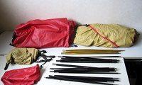 MOSS タイタン テント シアトルタグ フットプリント付き