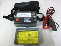 共立電気計器 4レンジ 絶縁抵抗計 3315