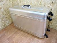ゼロハリバートン 4輪 スーツケース キャリーケース ゴールド トランク ハンガー付き