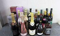 お酒20本まとめ シャンパン スパークリングワイン ウイスキー ワイン等