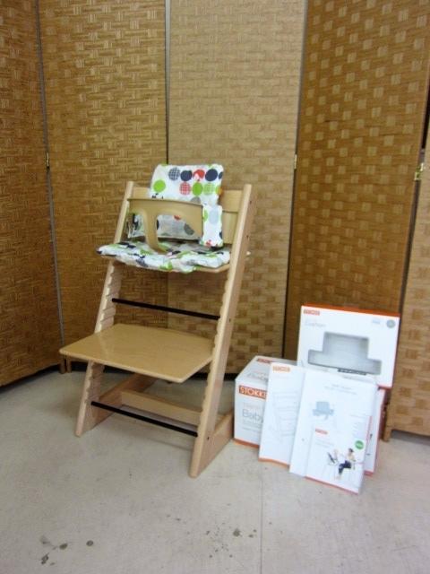 世田谷区にてストッケ トリップトラップ BabySet 子供椅子 を買取ました