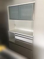 東久留米市にて 食器棚 島忠 H200 W120 を買取ました