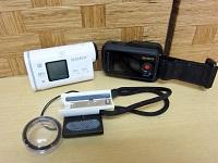 SONY アクションカム ビデオカメラ HDR-AS100V ライブビューリモコン RM-LVR1