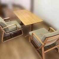 世田谷区にて 無印 リビングでもダイニングでも使えるテーブル チェア を買取ました