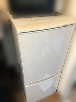 冷凍冷蔵庫 シャープ SJ-D14A-W