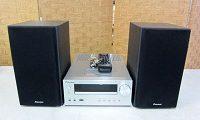 パイオニア CDミニコンポ X-HM50 スピーカー S-HM50