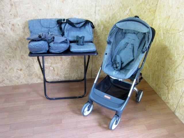 世田谷区にて ストッケ スクート ベビーカー 付属品 フットマフ マザーズバッグ等 を買取ました