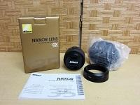 立川市にて ニコン カメラレンズ AF-S NIKKOR DX を買取ました