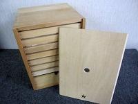 童具館 かずの木 8段 木製 積み木 知育玩具