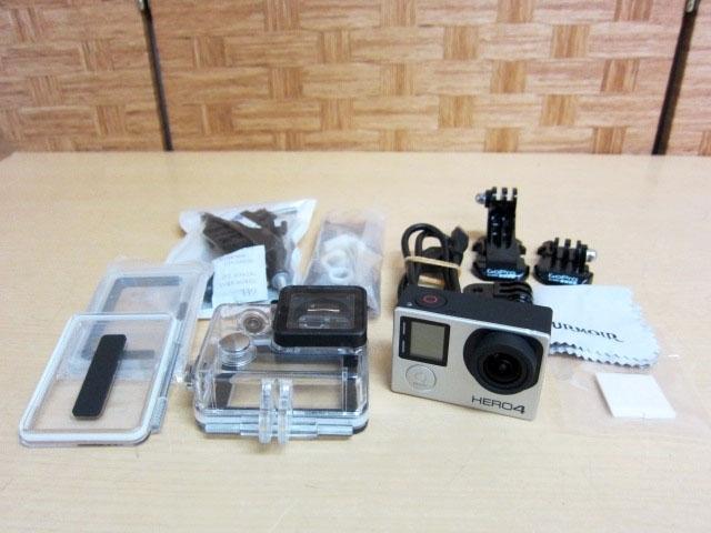 世田谷区にてGOPRO HERO4 ウェラブルカメラ アクションカメラ 付属品あり を買取ました