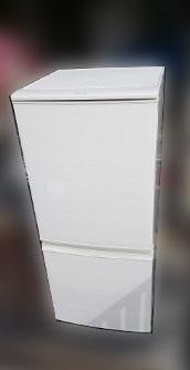 調布市にて シャープ 冷蔵庫 SJ-D14C-W を出張買取しました