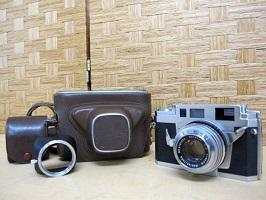横浜市旭区にて コニカ フィルムカメラ ⅢA を出張買取しました