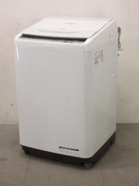 HITACHI 日立 BW-V80B 全自動電気洗濯機 ビートウォッシュ 8kg 2017年製