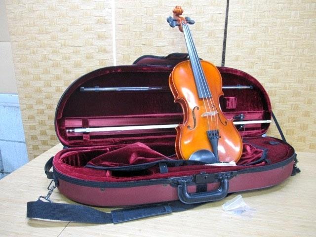 小平市にてドヴォルザーク バイオリン ケース・弦付き を店頭買取しました