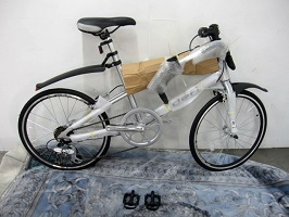 杉並区にて defi ALLOY 折り畳み自転車 ミニベロ JH-2016 を出張買取しました