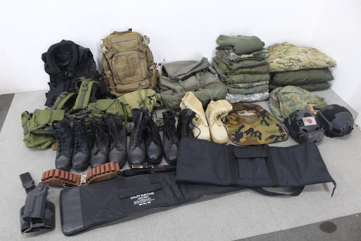 サバゲー ミリタリー 個人装備 大量 まとめ ベスト 軍服