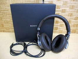 大田区にて SONY ハイレゾ ヘッドフォン MDR-1A を出張買取しました